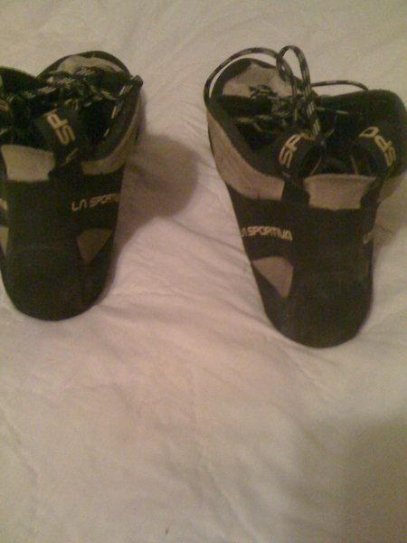 Rock Climbing Photo: shoes 4