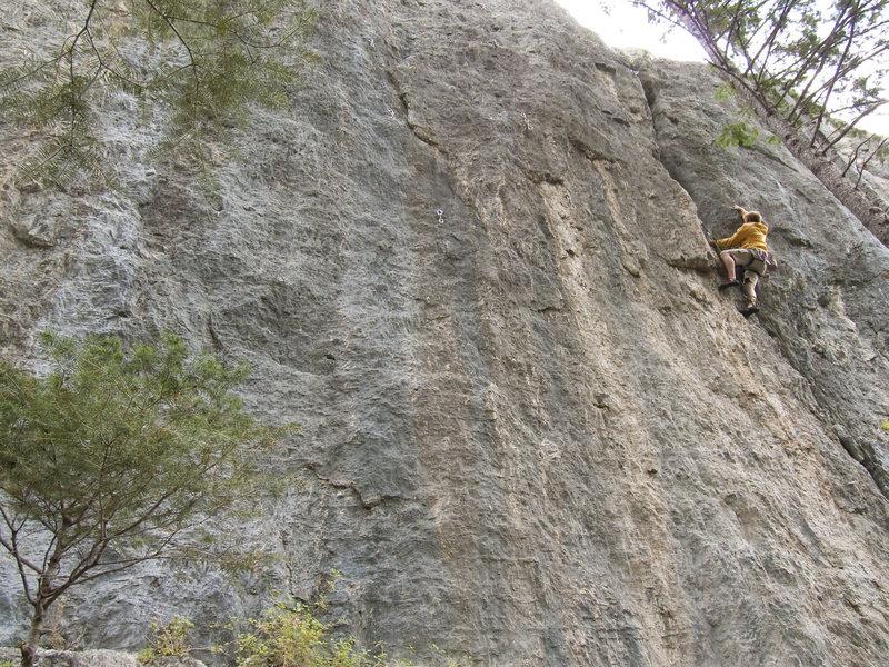 Rock Climbing Photo: Climbing Cyberslit