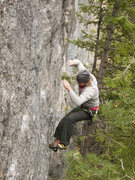 Rock Climbing Photo: Unknown climber 'ejecting' from Cortical Supressio...