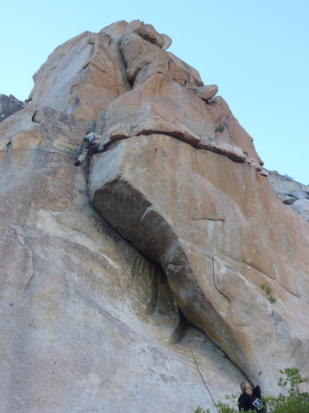 Rock Climbing Photo: The Red Pillar