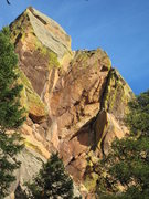 Rock Climbing Photo: The crack system in the right side of this photo, ...