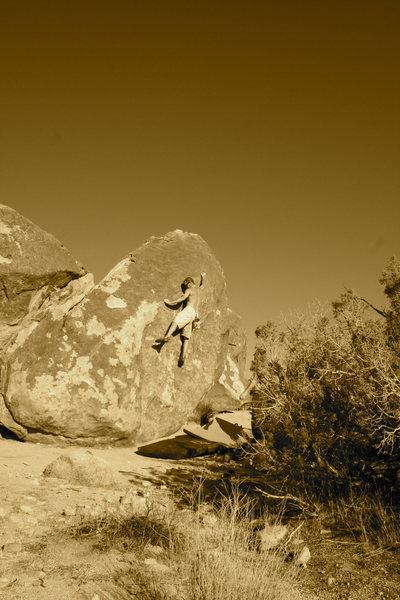 Rock Climbing Photo: bodacious rail