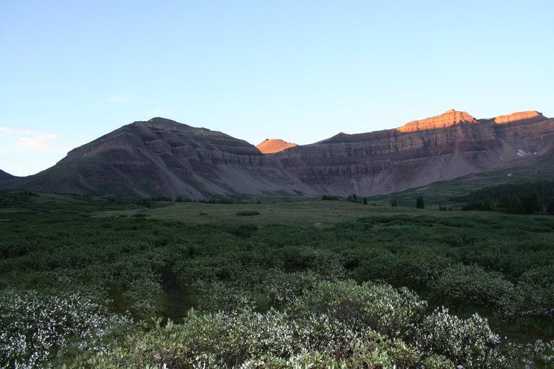 Rock Climbing Photo: kings peak