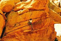 Rock Climbing Photo: betty jo