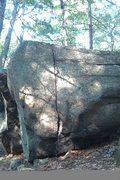 Rock Climbing Photo: Complete Crack.