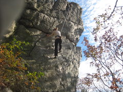 Rock Climbing Photo: climbing The Mummer's Dance