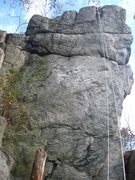 Rock Climbing Photo: Overlook Wall - Far Right.
