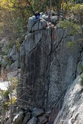 Rock Climbing Photo: Romeo's Ladder.  From left to right you get: Romeo...