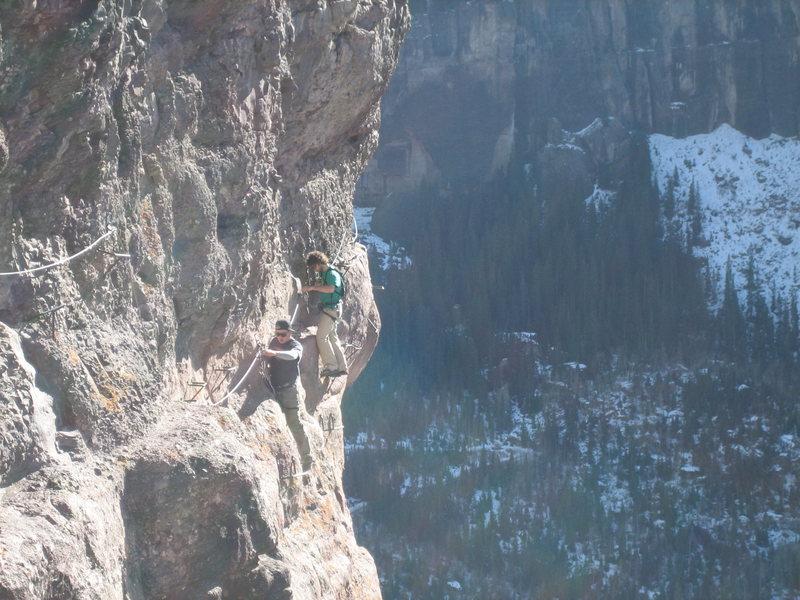 Rock Climbing Photo: Nick and John from T ride on a backyard stroll.