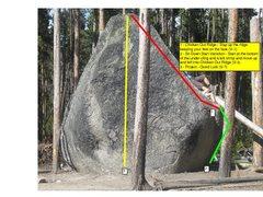 Rock Climbing Photo: Glacial Boulder