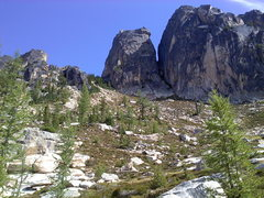Rock Climbing Photo: North & South Early Winter Spires