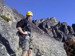 Rock Climbing Photo: Seth on summit