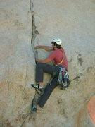 Rock Climbing Photo: Nathan Scherneck on 'Judas'.  Photo by Sheila Roma...