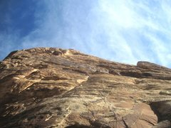 Rock Climbing Photo: Lance higher on P1. The photos of the climbers whe...