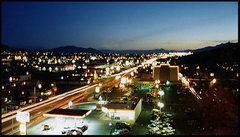 Rock Climbing Photo: Carson City at night. Photo by Blitzo.