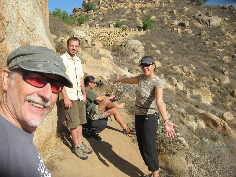 Rock Climbing Photo: Boulder below the Island Wall. Me, Nathan, Albert ...