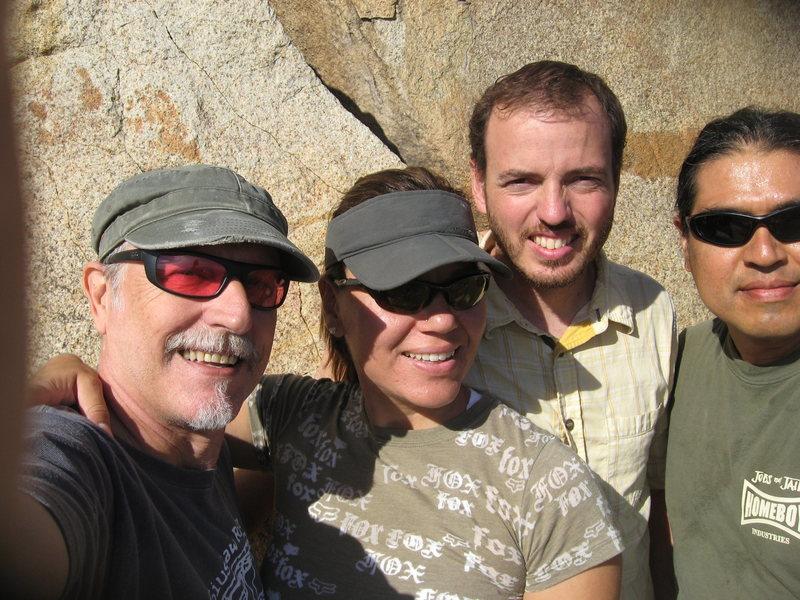 Me (Bill), Agina, Nathan and Albert.