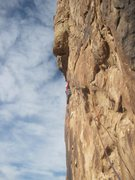 Rock Climbing Photo: Same Pitch 3.... second ascent Nov 6th
