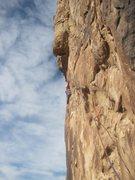 Rock Climbing Photo: Same Pitch 3.... second ascent Nov 6th