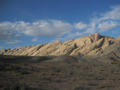 Rock Climbing Photo: Beatiful morning from the Little Spotted Wolf camp...