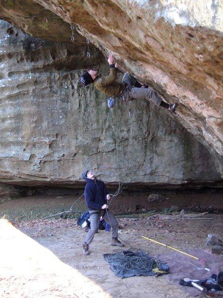 Rob on the overhang