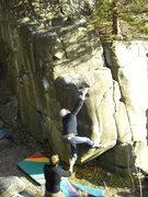Rock Climbing Photo: Aaron on Spread Eagle.