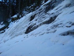 Rock Climbing Photo: Unkown ice flow
