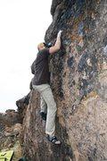 Rock Climbing Photo: Ryan on Rubber Ball