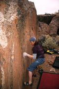 Rock Climbing Photo: Setting up for the move to the crimp on Water Colo...