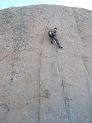 Rock Climbing Photo: Greg cruising up to the crux