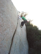 Rock Climbing Photo: Phil crushes