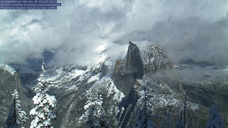 Rock Climbing Photo: webcam 11/8/10