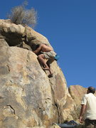 Rock Climbing Photo: Albert on the south side of the hill from the Isla...