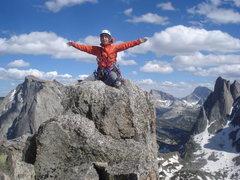 Rock Climbing Photo: Top of Pingora