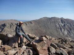 Rock Climbing Photo: Bierstadt 10/1/10 Evans in the background