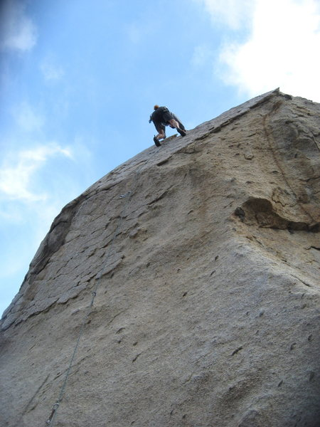 Rock Climbing Photo: Me on Kissed by the Sun.