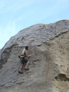 Rock Climbing Photo: Nathan on Kissed by the Sun.