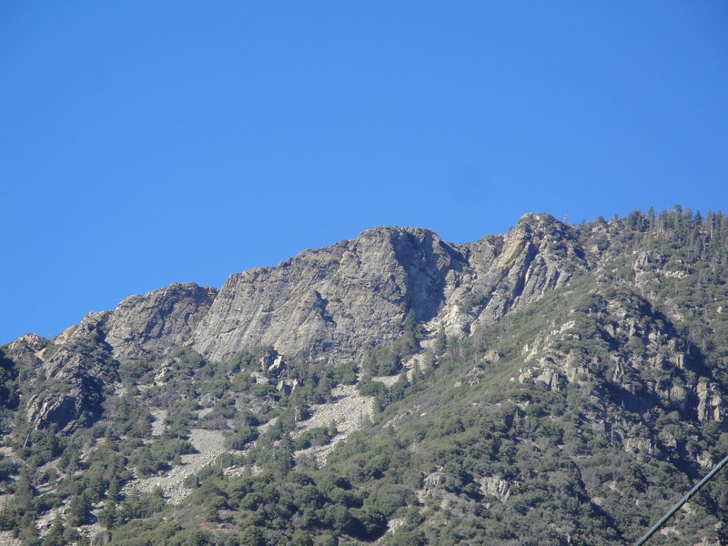 Rock Climbing Photo: Near Forest Falls, CA in San Bernardino mountains....