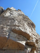 Rock Climbing Photo: Slicer, 5.10.