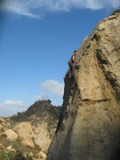 Rock Climbing Photo: Agina on Kissed by the Sun.