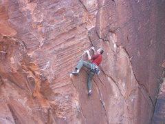 Rock Climbing Photo: Keith on Paralyzed