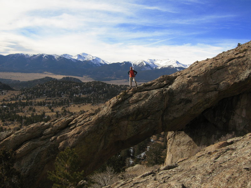 Rock Climbing Photo: 4 Mile Arch.