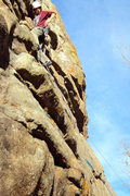 "Rock Climbing Photo: Shane Sims on ""Five Days One Summer"", wh..."