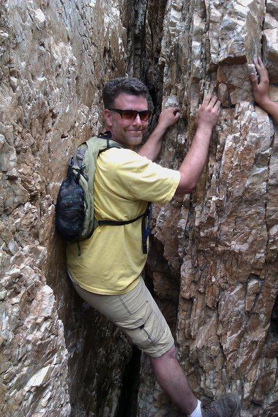 The cave on willard peak utah