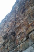 Rock Climbing Photo: closet cowboy crack . north ogden nature center wa...
