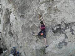 Rock Climbing Photo: A Mormon climber ascending Bort.