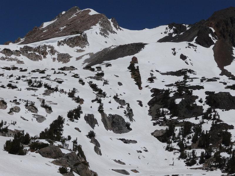 Rock Climbing Photo: South Face, Shepherd's Crest