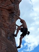 Rock Climbing Photo: Caustic
