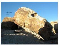 Rock Climbing Photo: Skinned Shin