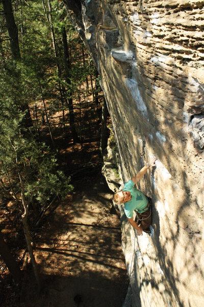 Rock Climbing Photo: Tyler on centerfire
